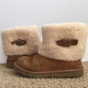 UGG Australia Short Boots Sheepskin Women's size 6